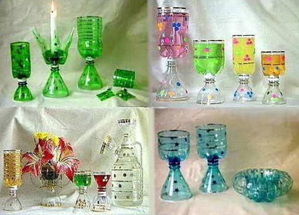 Поделки из пластиковой бутылки своими руками для детей в школу