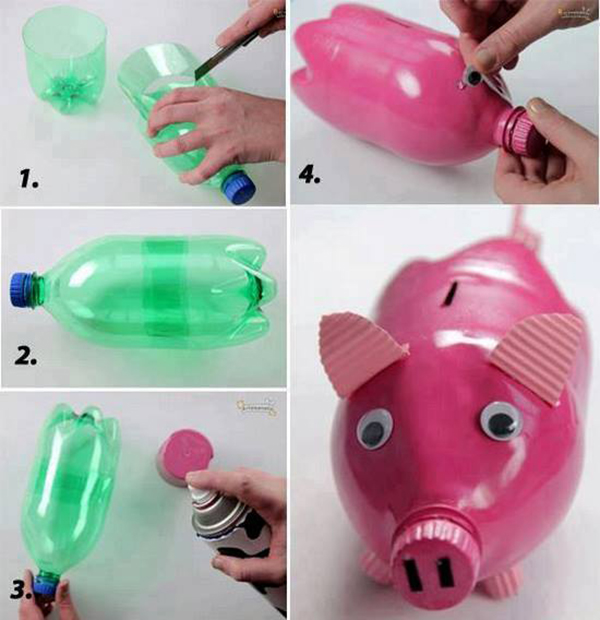 Сделай сам пластиковые бутылки поделки