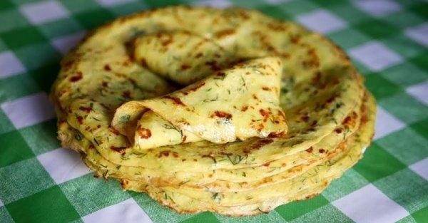 Тонкие блины из кабачков: идеальный летний рецепт